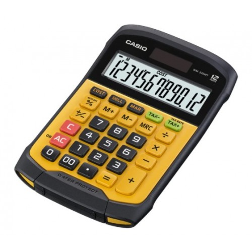 Casio WM-320MT Waterproof Calculator With Washable Keypad