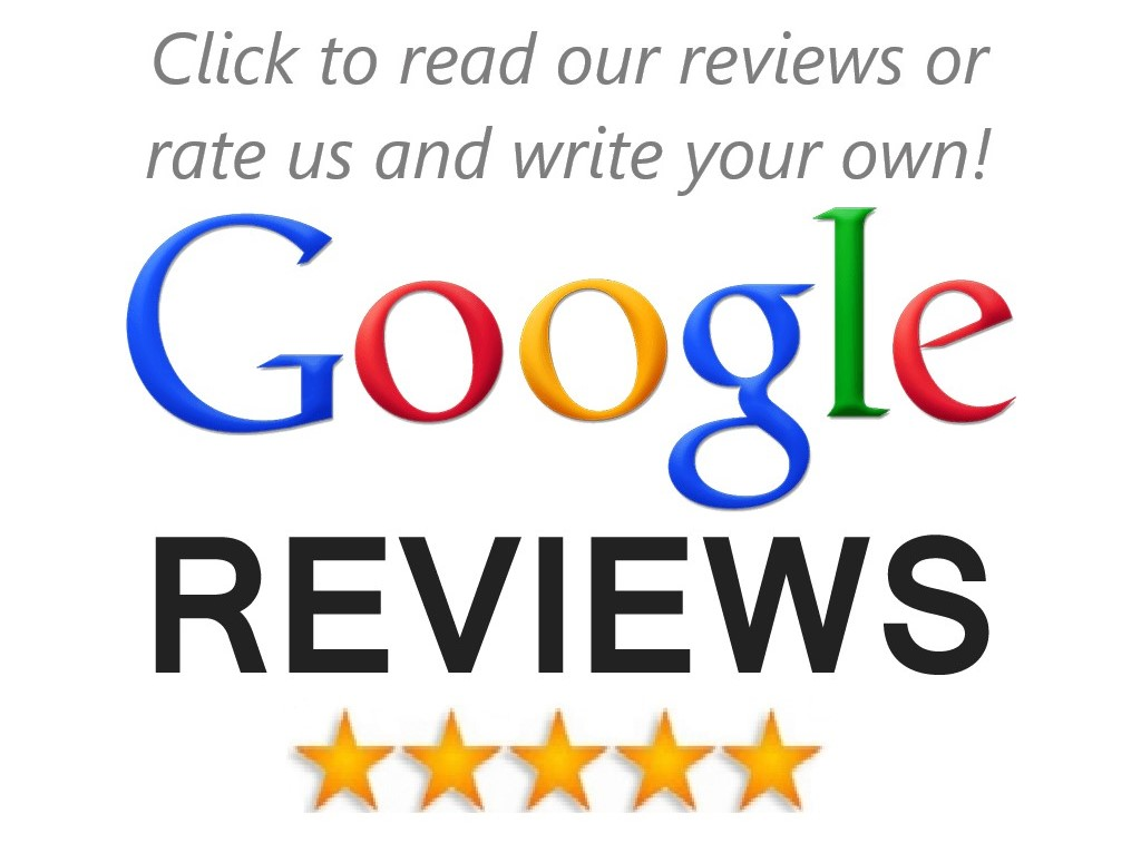 Read our reviews or rate us on Google