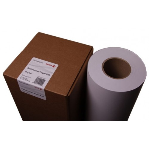XEROX 841MM X 175M 75GSM UNTAPED 003R97806 PERFORMANCE PAPER
