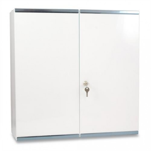 Double First Aid Cabinet (Filled BS 8599-1)