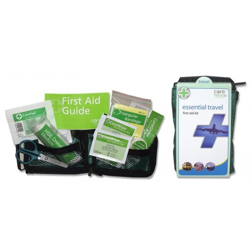 Essential Compact Travel First Aid Kit