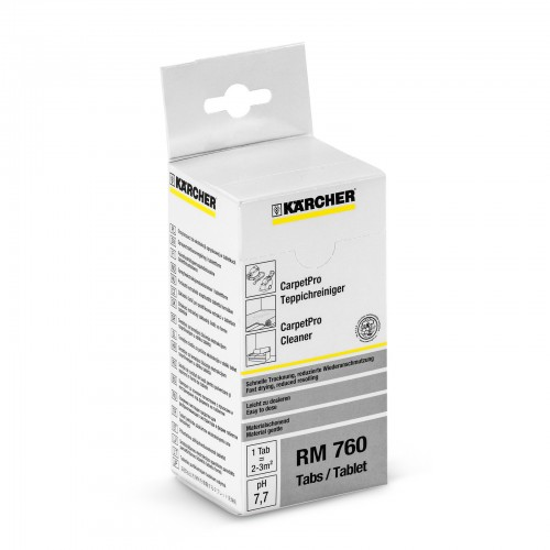 Karcher RM760 CarpetPro Cleaning Tablets (Box of x 16 tabs)