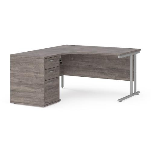 Desk & Pedestal Offer Left and Right - Select Your Size & Colour