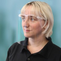 CV12 - 250 Micron APET Face Shield Glasses (100) CV12 Unit of Sale is 100 units.