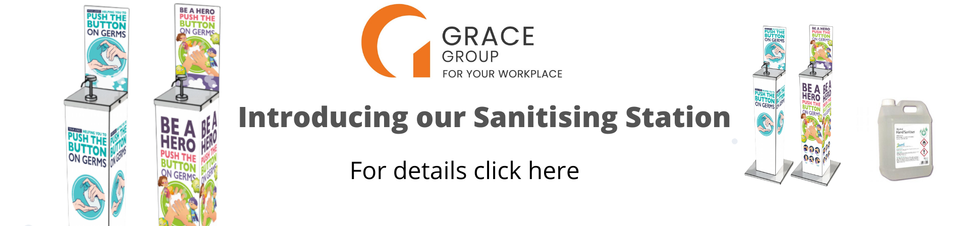 Grace Group Sanitising Station