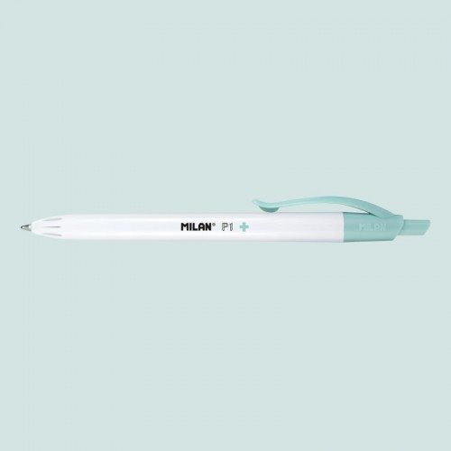 Milan P1 Touch Antibacterial Microban Retractable Ballpen