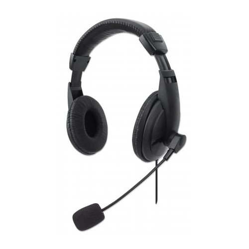STEREO USB HEADSET WITH INTEGRATED CONTROLS