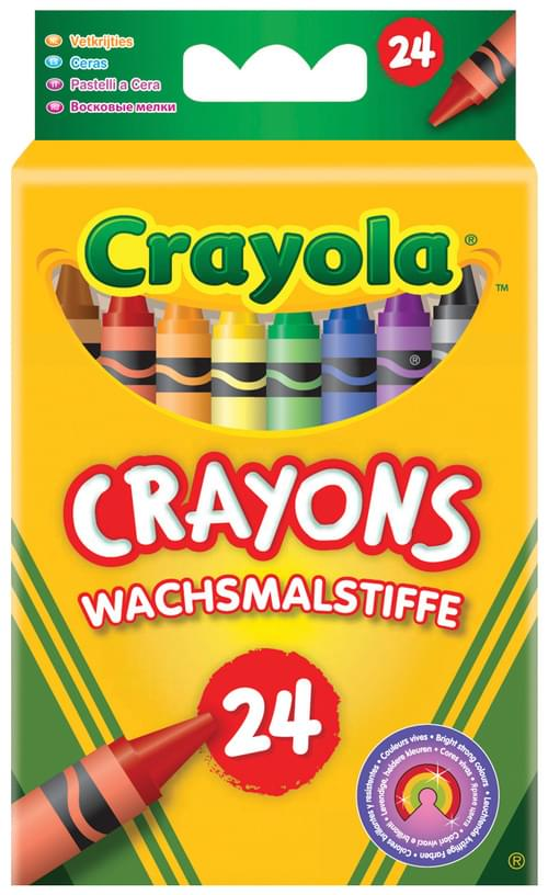 Crayons 24 Assorted