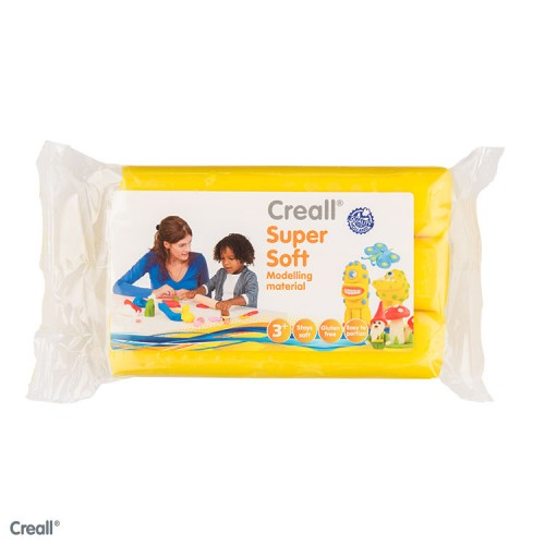 CREALL SUPERSOFT 500g YELLOW