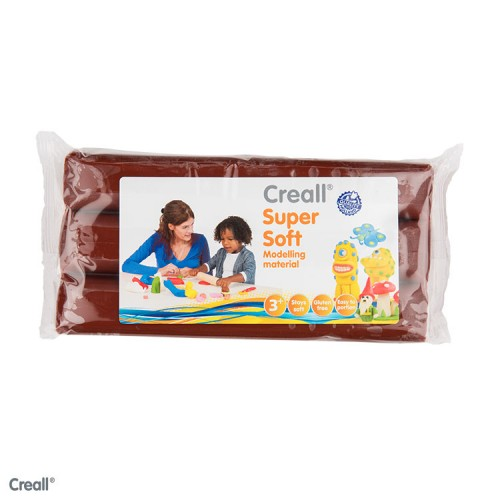CREALL SUPERSOFT 500g BROWN