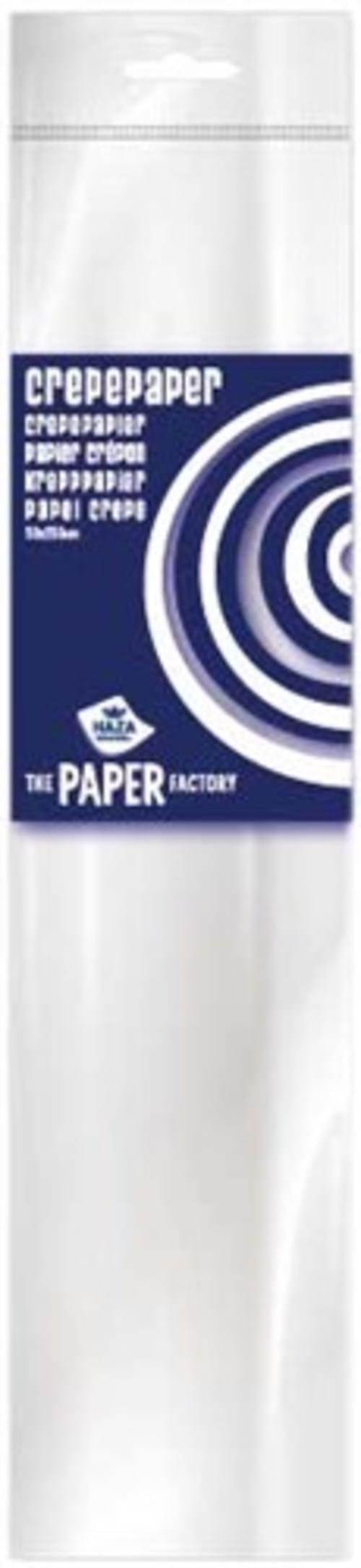 Crepe paper White 10pk