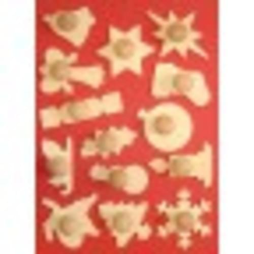 Christmas Stampers set of 6