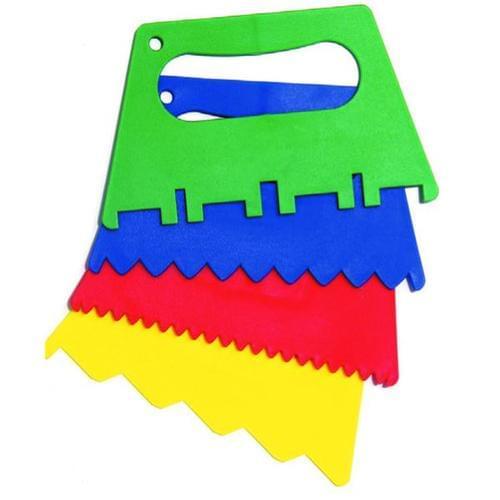 Plastic Paint Scrapers pk of 4