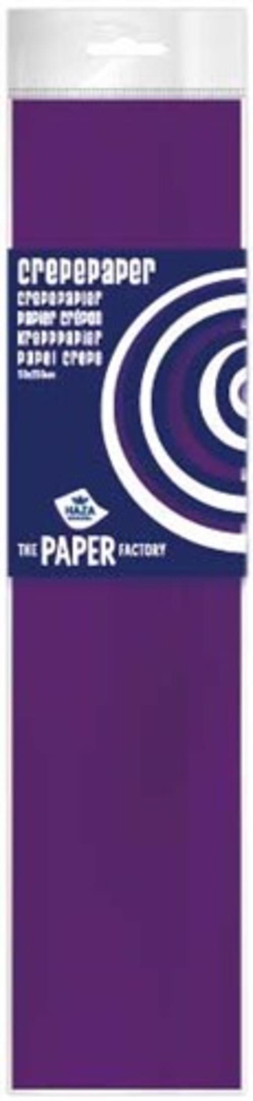 Crepe Paper Violet  10pk