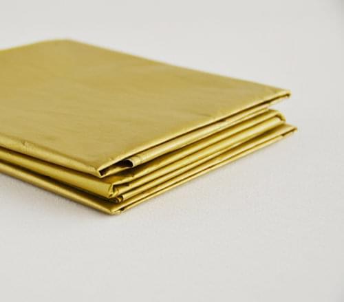 metallic tissue paper gold 5sht