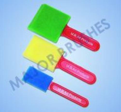 Assorted Foam Brush Set of 3