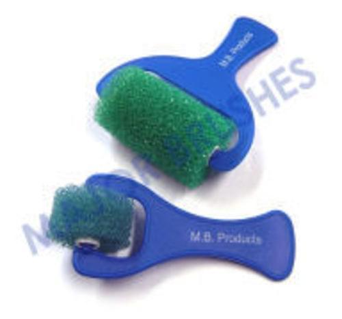 Crinkle Foam Rollers pk of 10 7cm
