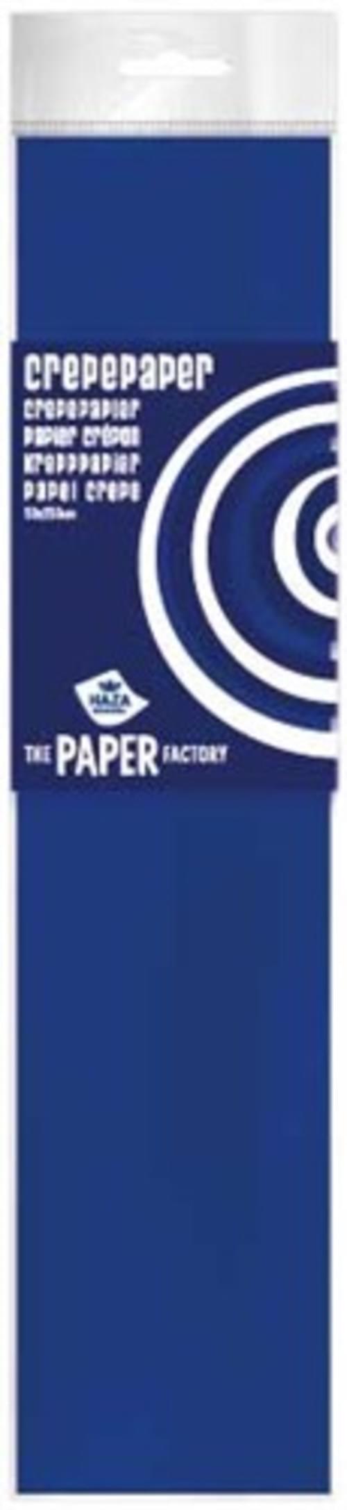 Crepe Paper Marine blue  10pk