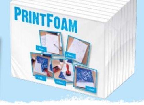 Printfoam A4 9mm Print Foam 10sht Pack