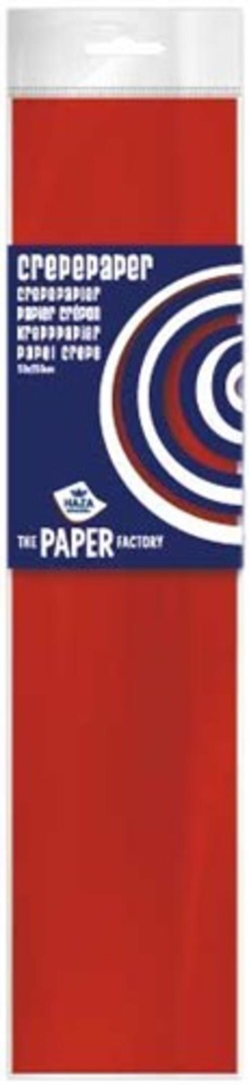 Crepe Paper Red  10pk
