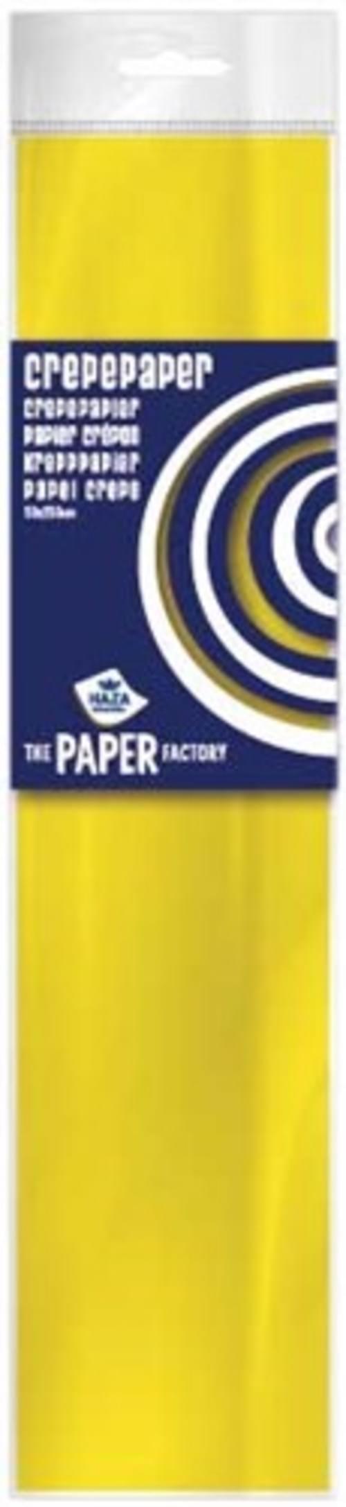 Crepe Paper Yellow  10pk