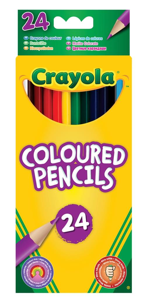 24 Coloured Pencils