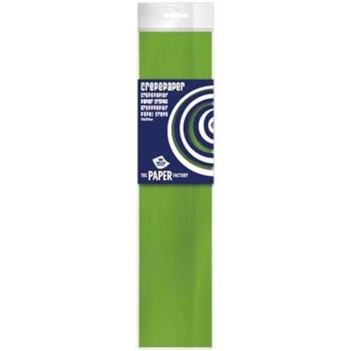 Crepe paper Lightgreen  10pk