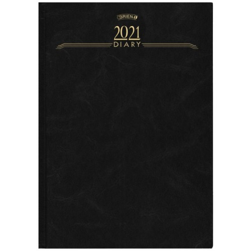 A4 PAGE A DAY  DESK DIARY 2021