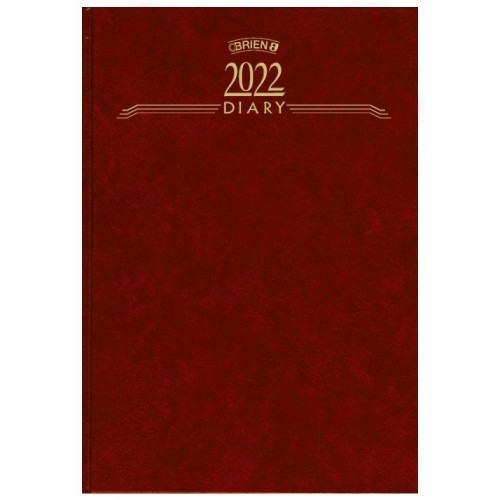A5 WEEK TO VIEW STANDARD 2022
