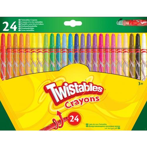 24 Twistable Crayons