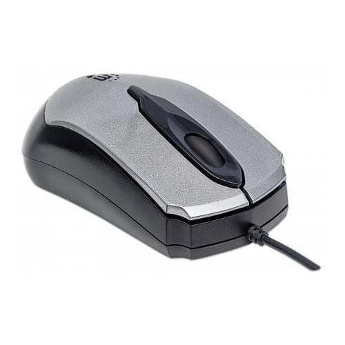 Edge Optical USB Mouse USB Wired 1000 dpi Black/Grey