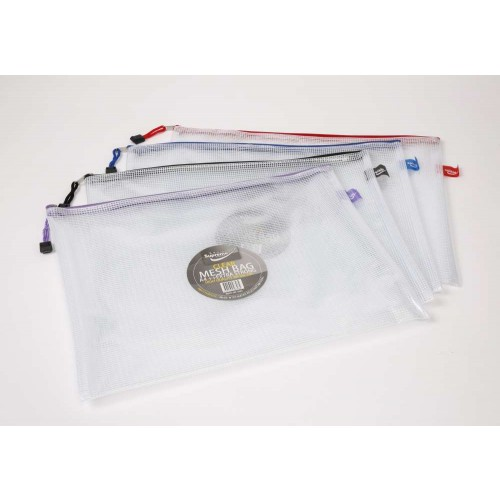 Supreme Stationery Clear Mesh Bag B4++ Extra Strong