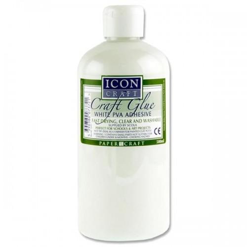 Icon Craft Pva Craft Glue - 500ml