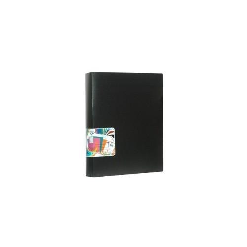 80 POCKET BLAZE DISPLAY BOOK BLACK
