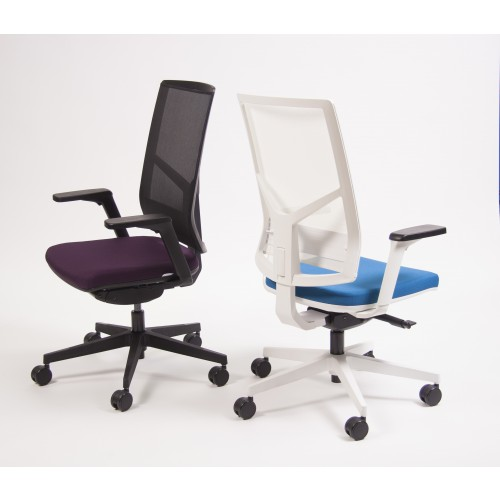 Rayl Mesh Swivel Task Chair Black