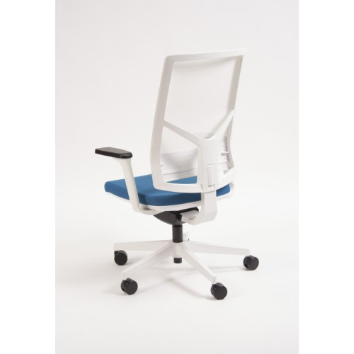 Rayl High Back Mesh Swivel Task Chair White