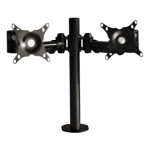 ABL Double Monitor Arm - Black