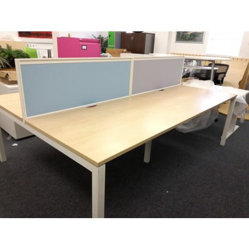 Chemistry 4 Person Bench Desking [Ex-Display]