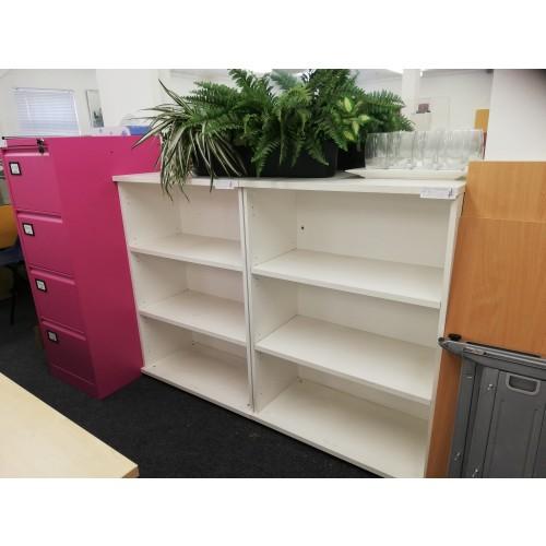 White Bookcase x 2 [Ex-Display]