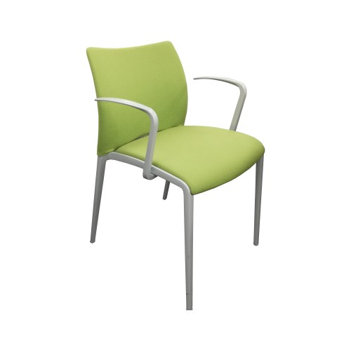 Aura Upholstered Side Chair with Arms [Ex-Display]