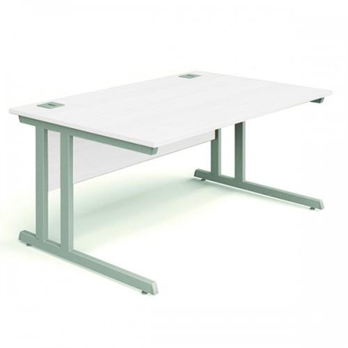 Mix 1600mm Desk in White