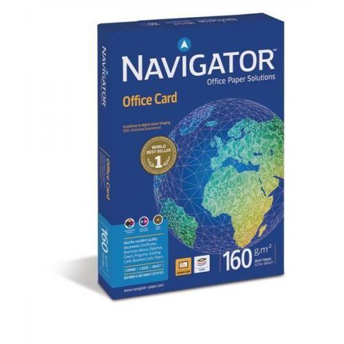 Navigator 160gm White A4 Card Pk250