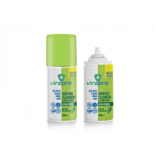 Virapro Surface Cleaner and Hand Spray 100ml
