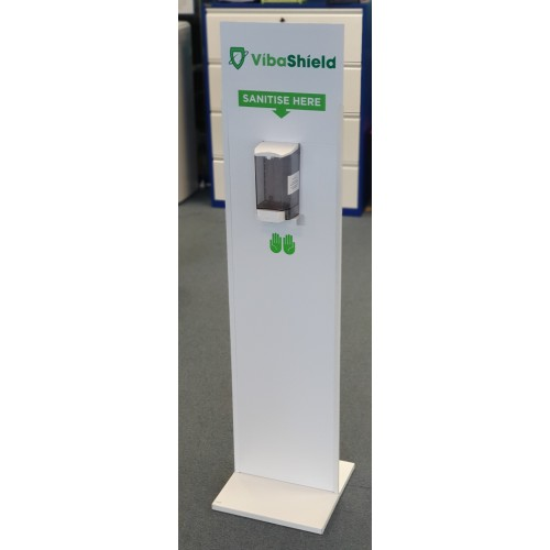 Free-Standing Manual Sanitising Station - IN STOCK