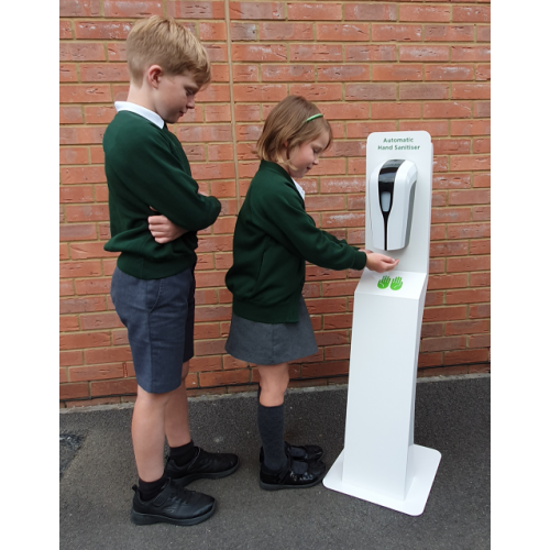 Kids Floor Standing Automatic Sanitiser Station