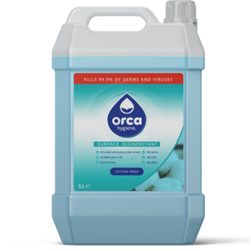Water Based Surface  Disinfectant - Cotton Fresh - 5 Litre Refill