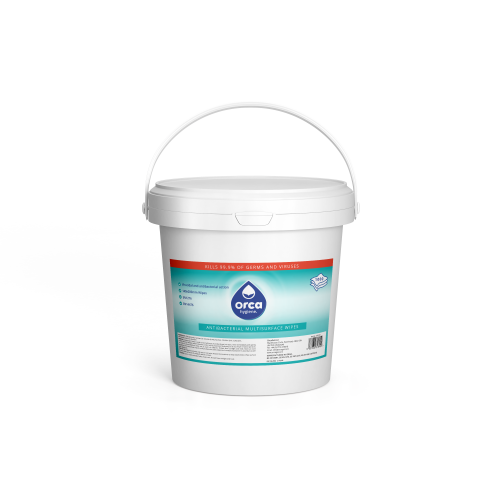 Water Based Disinfectant  Antiviral Wipes - 1000 wipes