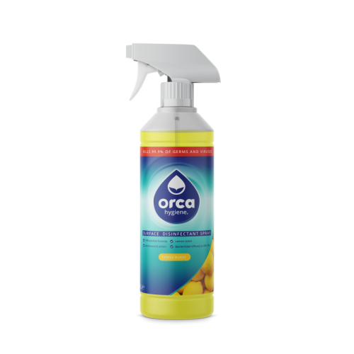 Alcohol Surface Disinfectant Spray 1 Litre Trigger Spray - Pack of 12