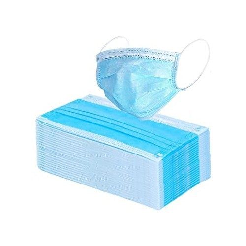 3-Ply disposable face masks - PK50 - IN STOCK