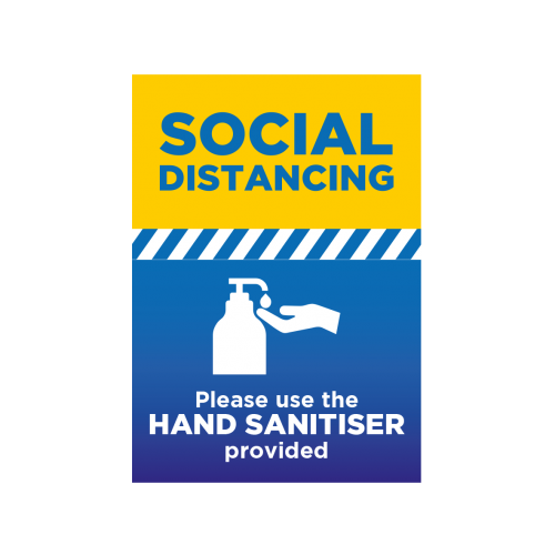 Please Use Sanitiser - A3 Poster - EACH